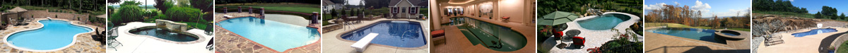 examples of George Neiderer Custom Pools
