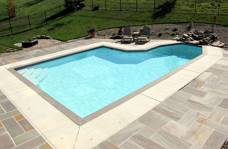 Concrete Pool photo from George Neiderer